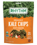 Rhythm Superfoods Kale Chips - Zesty Nacho 57 g   829739002327