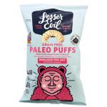 Lesser Evil Grain Free Paleo Puffs - Himalayan Pink  Salt 140 g | 855469006656