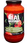 Neal Brothers Pasta Sauce - Greens & Pepperoncini 680 ml   056932502068