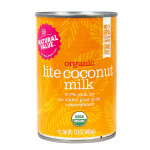 Natural Value Organic Coconut Milk - Lite Fair Trade 400ml | 706173010234