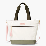 Logan and Lenora Daytripper Tote Natural + Olive
