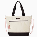 Logan and Lenora Daytripper Tote Natural + Black