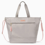 Logan and Lenora Weekender Tote Grey