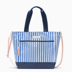 Logan and Lenora Daytripper Tote French Stripe