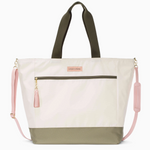Logan and Lenora Weekender Tote Natural + Olive