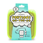 Goodbyn Portions On -The -Go - Neon Yellow Green   855705005795