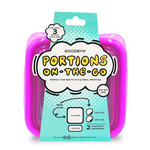 Goodbyn Portions On -The -Go - Neon Purple   855705005825