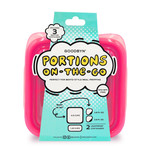 Goodbyn Portions On -The -Go - Neon Pink | 855705005818