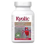 Kyolic Aged Garlic Extract Extra Strength One A Day Formula 1000mg - Everyday Support 30 Veg Tablets | 772570394000