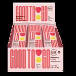 Good To Go Raspberry Lemon Keto Bars 9 x 40 g Box | 687456113203