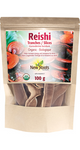 New Roots Herbal Organic Reishi Slices 100g   628747923774