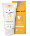 Attitude Adult Natural Care Mineral Sunscreen SPF 30 Tropical 150 g | 626232160215
