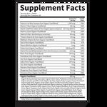 Garden of Life Mykind Organics Prenatal Once Daily 30 Vegan Tablets | Supplement Facts