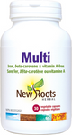 New Roots Herbal Multi - Iron, beta-Carotene & Vitamin A-Free 60 Vegetable Capsules | 628747117319