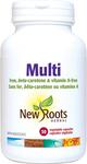 New Roots Herbal Multi - Iron, beta-Carotene & Vitamin A-Free 30 Vegetable Capsules   628747117265