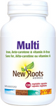 New Roots Herbal Multi - Iron, beta-Carotene & Vitamin A-Free 120 Vegetable Capsules   628747117340