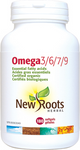 New Roots Herbal Omega 3/6/7/9 180 Softgels | 628747119993