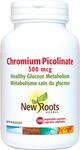 New Roots Herbal Chromium Picolinate 500mcg 100 Veg Capsules | 628747104449