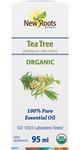 New Roots Herbal Tea Tree Essential Oil - Organic 100% Pure 95mL | 628747221184