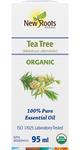 New Roots Herbal 100% Pure Essential Oil Organic Tea Tree  95mL   628747221184