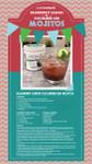Blueberry Lemon Cucumber Gin Mojitos Recipe
