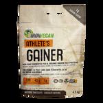 Iron Vegan Athlete's Gainer Natural Chocolate 4.5kg | 837229007998