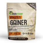 Iron Vegan Athlete's Gainer Natural Chocolate 2.5kg | 837229007899