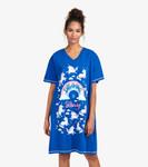 Little Blue House by Hatley Women's Sleepshirt One Size - Rainbow Unicorns