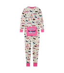 Little Blue House by Hatley Adult Union Suit Pretty Sketch Country