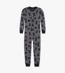 Little Blue House by Hatley Kids Union Suit Charcoal Bears