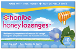 Honibe Honey Lozenges with Ivy Leaf - Mucus & Cough Relief 10 Lozenges | 663448001796