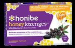 Honibe Honey Lozenges with Elderberry - Flu, Cold & Fever Relief 10 Lozenges |663448001765