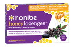 Honibe Honey Lozenges Relieves Symptoms of Flu, Cold & Fever with Elderberry- 10 Lozenges |663448001765