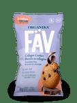 Organika FAV Collagen Cookies - Chocolate Chip 45g | 620365030360