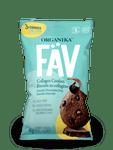 Organika FAV Collagen Cookies - Double Chocolate Chip 45g | 620365030384