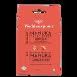Wedderspoon Organic Manuka Honey Drops 120g Ginger with Echinacea | 814422021006