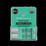 Wedderspoon Organic Manuka Lip Balm 4.5g Peppermint 2 Pack | 814422023581