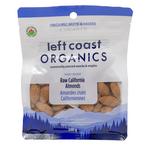 Left Coast Organics Organic Raw California Almonds 200g   625691220102