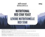 Left Coast Organics Nutritional Red Star Yeast 400g