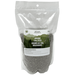 Left Coast Organics Organic Black Chia Seeds 900g | 625691210349