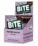 BiTE Snacks Protein Smoothie with Cricket & Plant-Based Protein - Chocolate 10 Pouches | 628250591194