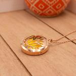 Matrix Aromatherapy AromaLocket Aromatherapy Necklace - Purity (Rose Gold)