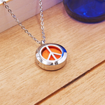 Matrix Aromatherapy AromaLocket Aromatherapy Necklace - Peace Mini (Stainless Steel)
