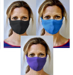 Brave Face Skeena Organic Reusable Face Mask for Adults