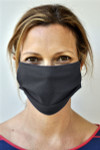 Brave Face Fraser Organic Reusable Face Mask for Adults -Black | 705333599329