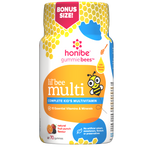 Honibe Gummiebees Lil' bee Multi Complete Kid's Multivitamin - Natural Fruit Punch Flavour 70 Gummies | 663448001468
