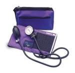 AMG Medical PhysioLogic Color Pro Sphygmomanometer - Purple 106-350 | UPC 775757063508