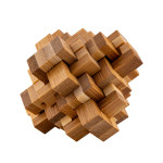 Relaxus Eco Bamboo Brain Teaser Puzzles - 2   30628949007747
