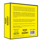 Hygge Game Who In The Room | Backside Image of Box