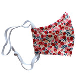 Ortho Active Cloth Face Masks for Kids - 2-Pack | Strawberry Flowers